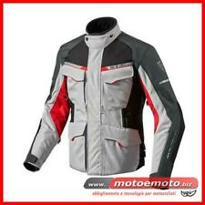 Giacca Moto Revit Outback 2 Silver Red 3 Strati Impermeabile Touring Bmw Rev'it