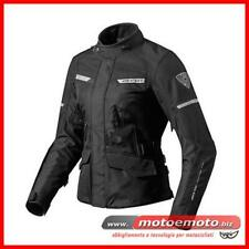Giacca Moto Donna Revit Outback 2 Lady Nera 3 Strati touring Impermeabile
