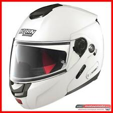 Casco Moto Scooter Nolan N 90-2 Special N-Com 015 Bianco Modulare Apribile