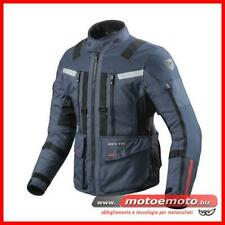 Giacca Moto Revit Sand 3 Blu Scuro Nero Touring 3 Strati Rev'it Bmw