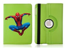 Personalised Spiderman 360 Rotating Case Cover for ALL Apple iPad tablets