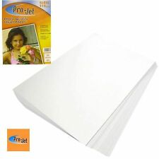 PRO-JET A4 PHOTO PAPER 20 SHEETS 210GSM GLOSS FINISH + MULTI BUY DISCOUNTS