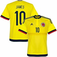 ADIDAS COLOMBIA JAMES RODRIGUEZ HOME JERSEY 2015/16.