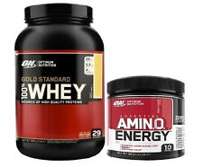 Optimum Nutrition 100% Gold Standard Whey Protein 908g + ON Amino Energy 90g