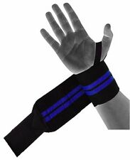 Kobo Weight Lifting Wrist Wrap with Thumb Support /Strap Heavy Duty