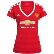 MANCHESTER UNITED Adidas femmes Heim Maillot ac1425 jersey football rouge NEUF