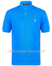 Ralph Lauren Mens Classic Fit Short Sleeve Polo Shirt Blue S - XXL RRP £75 BNWT