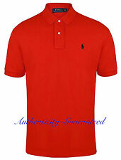 Ralph Lauren Mens Classic Fit Short Sleeve Polo Shirt Red S - XXL RRP £75 BNWT