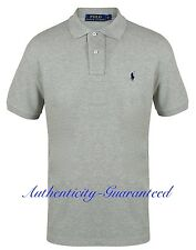 Ralph Lauren Mens Classic Fit Short Sleeve Polo Shirt Grey S - XXL RRP £75 BNWT