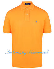 Ralph Lauren Mens Classic Fit Short Sleeve Polo Shirt Peach M - XXL RRP £75