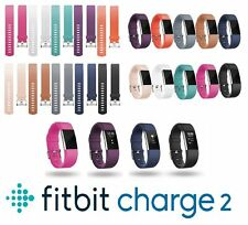 Fitbit Charge 2 Replacement Band Sports Silicone Bracelet Watch Strap -Colour 9