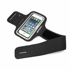 Capdase Sport Armband For IPhone5-5S AB00P126A-1301 - Black Flat 70% OFF