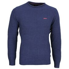 New Zealand Auckland NZA Strick Pullover marine blau 17GN405 270