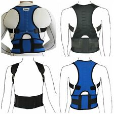 Neoprene Magnetic Posture Corrector Shoulder & Lumbar Back Support Belt Brace