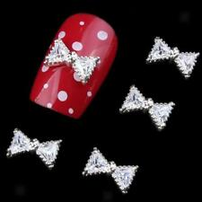 10pcs 3D Acrylique Nail Art Tips Gem Crystal Jewery Rhinestones DIY