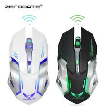2400 DPI Wireless Optical Gaming Mouse Mice 6 Buttons for PC Laptop Desktop