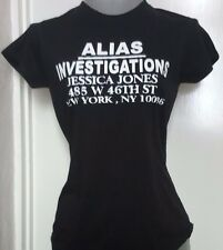 """JESSICA JONES INSPIRED """"ALIAS INVESTIGATIONS"""" LADIES FITTED T-SHIRT, SMALL TO 2X"""