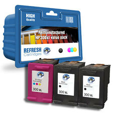 Refresh Cartuchos 300XL-3 Cartucho Económico Tinta Compatible con hp Impresora