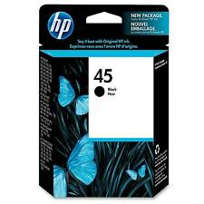 original Negro HP Officejet Cartucho de Tinta Hp 45/HP45/51645ge