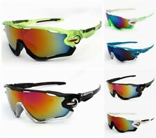 Cycling Wrap Running Outdoor Leisure Sunglasses Multi Sport Glasses Mirror Lens