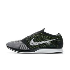 NIKE FLYKNIT RACER WOMENS TRAINER RUNNING SHOE SIZE 6  6.5 Black White New