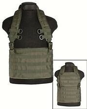 Chest Rigg molle Expansible, seguridad, SWAT, Painball, MILITAR -nuevo
