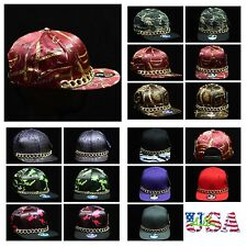 Baseball Cap Party Cap Fashion Hat Flat Bill Hip Hop Hats Adjustable Snapback