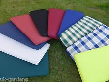2 Seater Garden Furniture Bench Seat  Cushion Water Resistant Outdoor 118x48x6cm