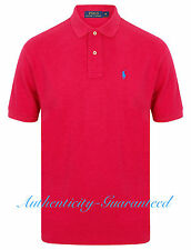 Ralph Lauren Mens Classic Fit Short Sleeve Polo Shirt Rasberry M - XL RRP £75