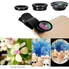 Wide Angle Macro Fish Eye Photo Lens Clip for All Type Of Smartphone Camera