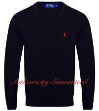 Ralph Lauren Men's V/Crew Merino Wool Jumper Various Colours S - XXL RRP £110