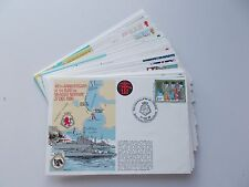 Royal Navy Philatelic Covers. RNSC(5) Series. Each sold separately.