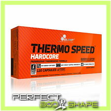 OLIMP THERMO SPEED HARDCORE MEGA CAPS STRONG FAT BURNER WEIGHT LOSS PILLS TABS