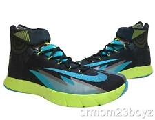 77ac171bdc1e New Rare Nike Flywire Zoom HyperRev Basketball Shoes Sneakers Black Green  Blue
