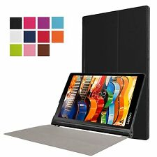 """Slim Smart Cover Case Stand for Lenovo Yoga Tab 3 Pro 10.1"""" Tablet + Extras"""