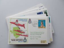 Royal Air Force Flown Covers. C Series, some are signed. Each sold separately.