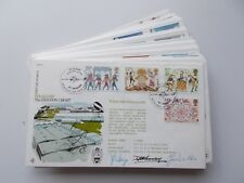 RAF Flown First Day Covers. RFDC Series No. 1 to 25 signed. Sold separately.