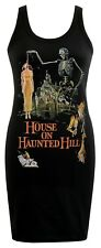 LADIES DRESS HOUSE ON HAUNTED HILL VINCENT PRICE B-MOVIE POSTER HORROR CULT S-XL
