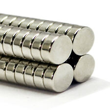 8mm x 3mm Very Strong Rare Earth Round Neodymium NdFeb Disc Ring Round Magnets