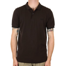 X Fred Perry Twin Tipped Polo Shirt - Liquorice