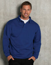 homme pull-over de travail sweat avec col pull GRANDES TAILLES S - 4XL