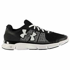 Under Armour Micro G Speed Swift Running Shoes Womens Blk/Wht Trainers Sneakers