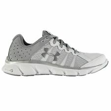 Under Armour Micro G Assert 6 Running Shoes Womens White/Grey Trainers Sneakers
