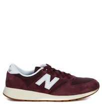 Sneaker New Balance 420 in suede e mesh rosso