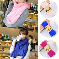 30 Colors Girls Ladies Womens Long Scarf Wrap Shawl Scarves Linen Cotton Stole