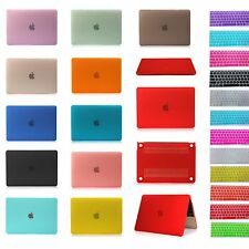"""Clear Matte Rubberized Hard Case Shell+Keyboard Cover For 2015 Macbook 12"""" A1534"""