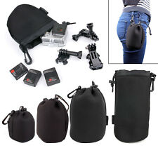 All-In-One Storage Bags For GoPro 4, HERO, 3+, 2, 1 & Accessories w/ Belt Clip