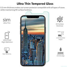 1/3/5pcs Tempered Glass Screen Protector HD Film For Apple iPhone Ten/ iPhone 10