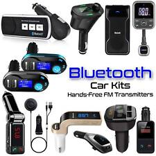 Wireless Bluetooth Car Kit FM Transmitter For MP3 Music Player Radio & USB Port