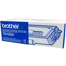 AUTENTICO BROTHER TN-6300 NERO STAMPANTE LASER CARTUCCIA TONER PER HL/FAX/MFC